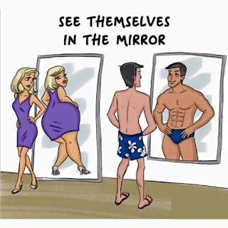 12 Kartun Yang Menggambarkan Perbedaan cara Pikir Pria dan Wanita