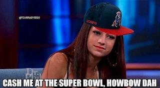 Cash Me Outside Super Bowl Meme
