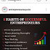 8 HABITS OF SUCCESSFUL ENTREPRENEURS