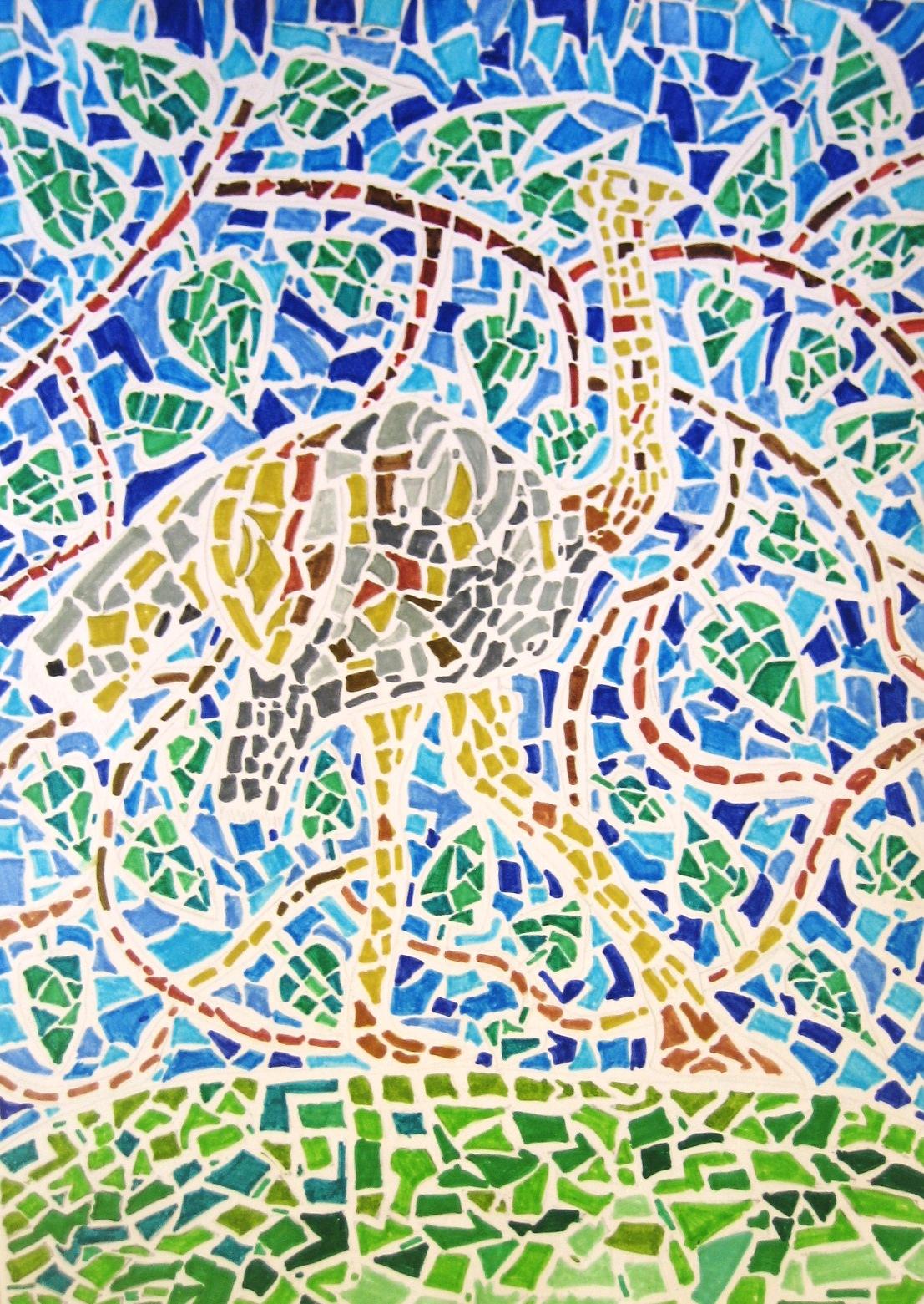 Come Costruire Un Mosaico immagin@rti: un mosaico di animali