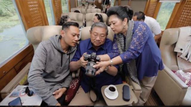 Parah! Ani Yudhoyono Nyolot Tanggapi Netizen Yang Bilang AHY Belum Pantas Nyapres, Bikin Agus Disebut Anak Ingusan