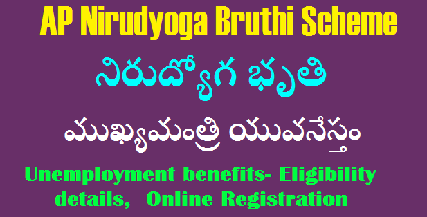 AP Mukhya Manthri - Yuva Nestham Nirodyoga Bruthi Scheme for Unemployee Youth in Andhra Pradesh
