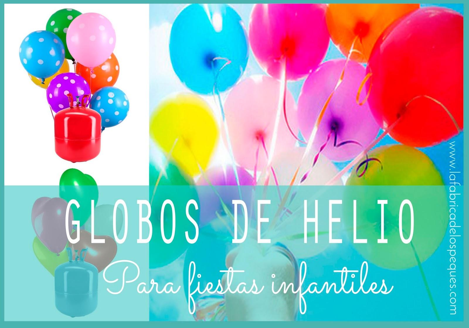 La f brica de los peques globos de helio para fiestas - Llenar globos con helio ...