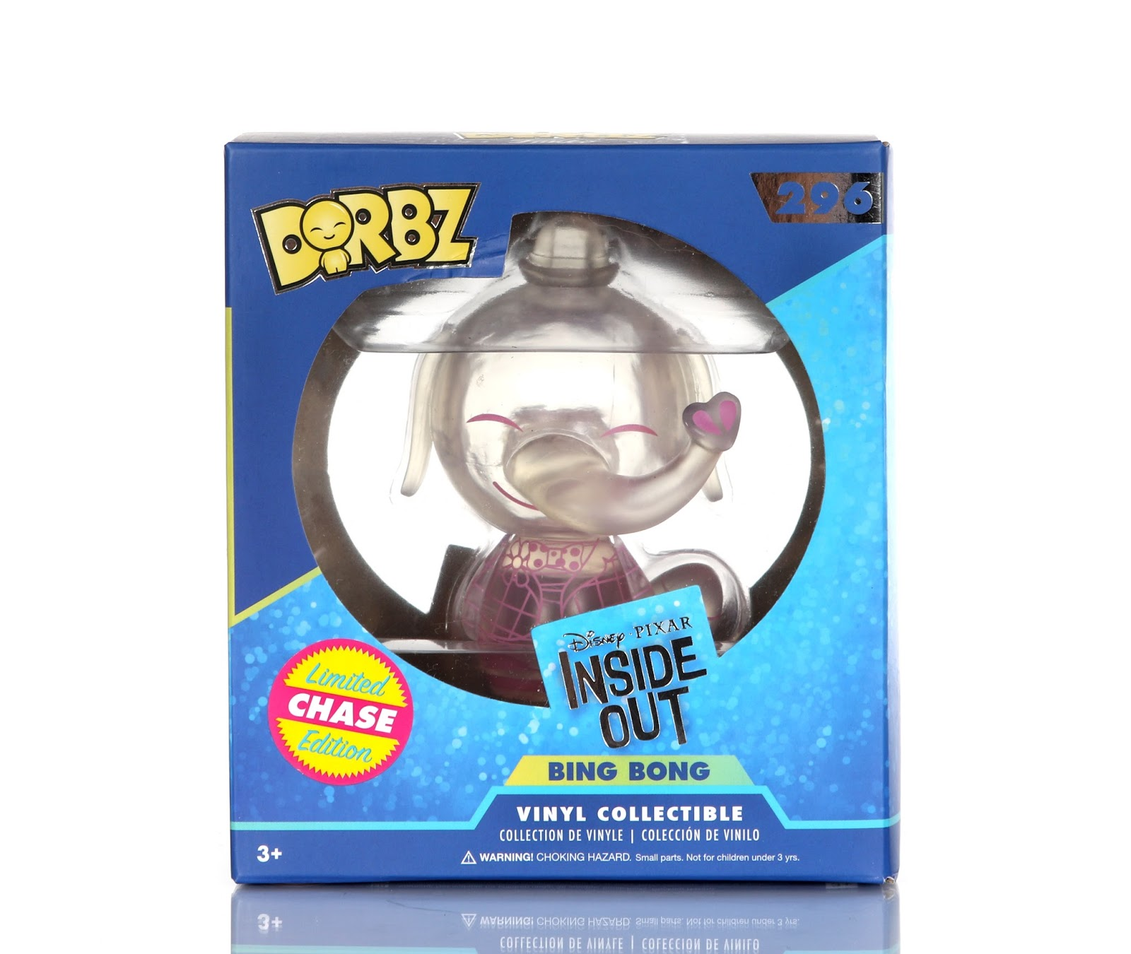Inside Out Bing Bong Dorbz Clear Limited Chase Edition