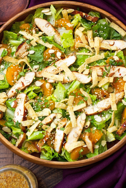 ASIAN SESAME CHICKEN SALAD