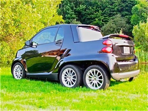 six wheeled smart car pickup conversion rh oddimotive com Diesel Smart Car Smart Car Body Kits