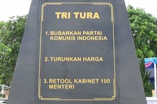 Download Free File PSD JPEG Desain Hari Tritura (Tiga Tuntutan Rakyat)