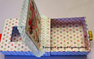 Valentine matchbox slider pop up card