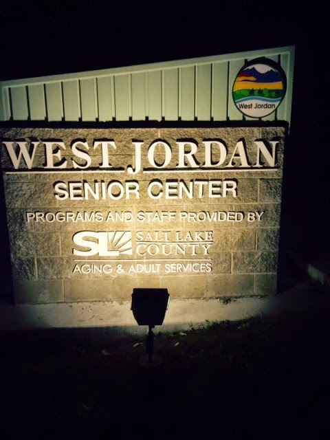 Steves Signs Blog West Jordan Senior Center Sign