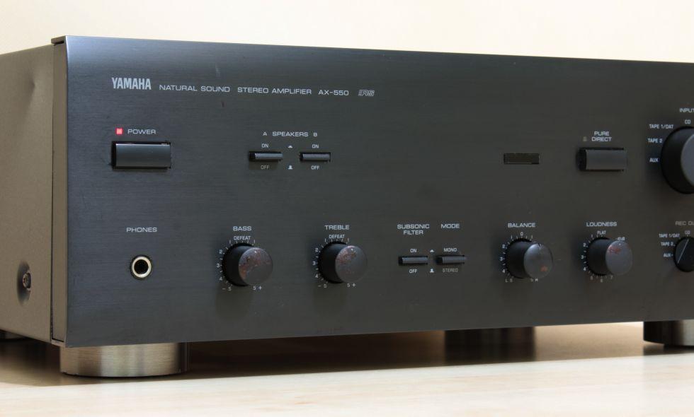 Yamaha ax-750 review youtube.