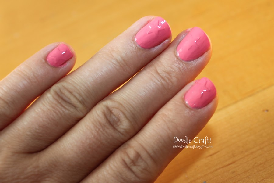 Doodlecraft Star Manicure With Stickers