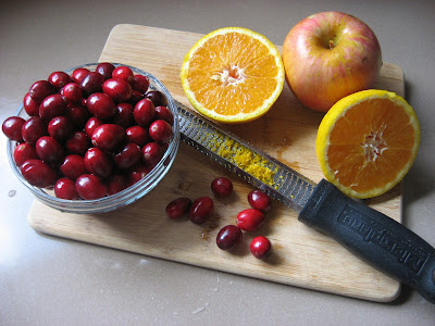 Cranberry Cherry Apple Sauce | Recipes to Nourish