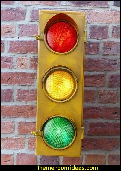 Retro Traffic Lamp