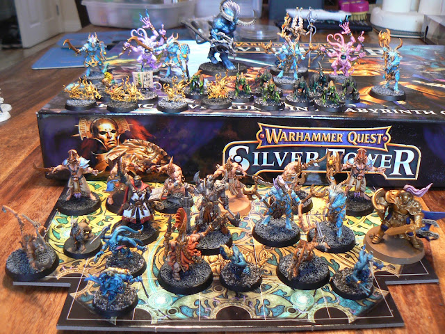 Riotville A Home For A 28mm Hobby Warhammer Quest Silver