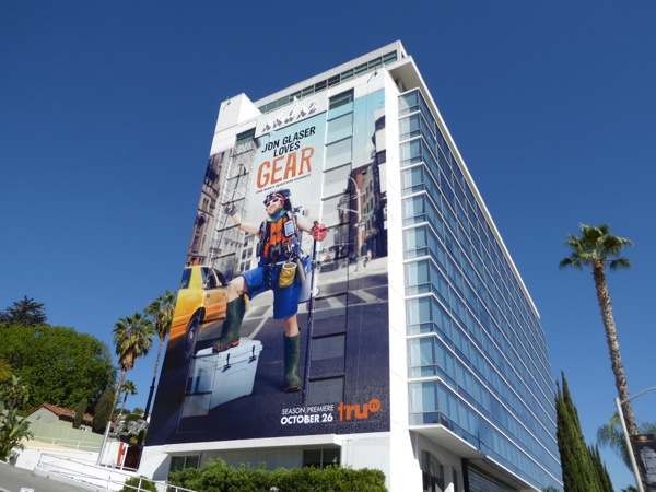 Jon Glaser Loves Gear series premiere billboard