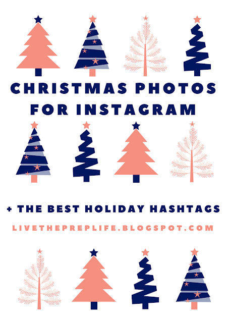 Christmas Photos For Instagram + The Best Holiday Hashtags // Live The Prep Life