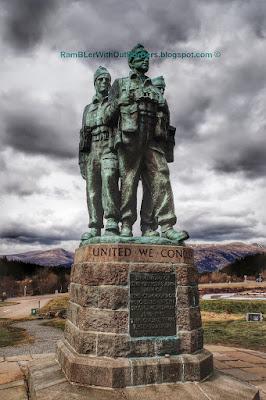 Commando Memorial, Scotland, UK