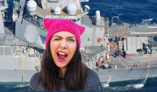 "TRAD NEWS RIGHT AGAIN: USS FITZGERALD CRASH WAS ""DIVERSITY MALFUNCTION"""