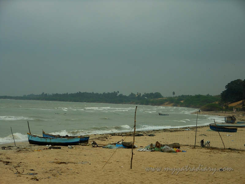 Beach at the Villondi Teertham, Rameshwaram