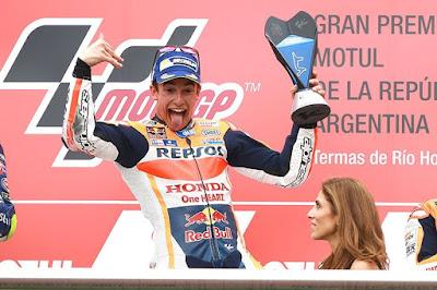 Menang Telak! Marquez Mulai Ketagihan Lagi Kalahkan Rossi