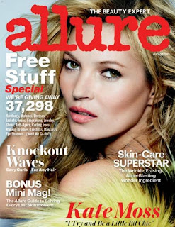 Allure's Cover Issue Featuring The Legendary Kate Moss!