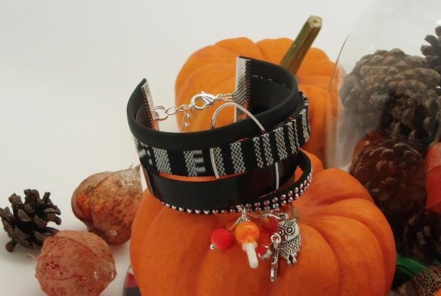 DIY, bijoux, bracelet, manchette, halloween, La Perle des Loisirs, tuto