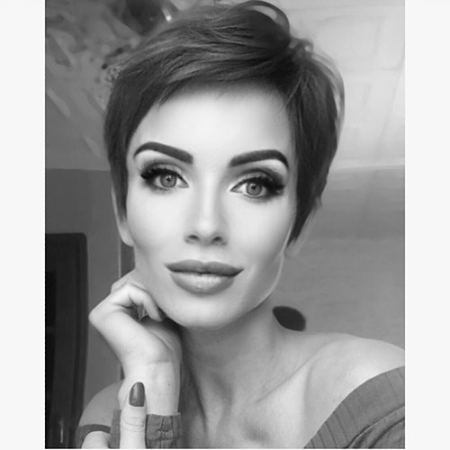 pixie cut longer 2019
