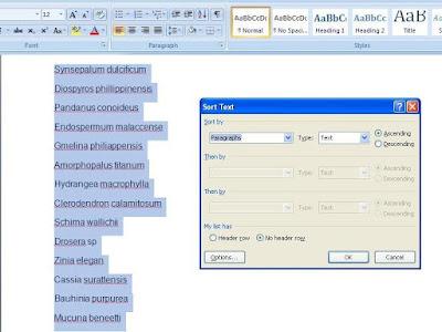 Menyusun data secara urut berdasar abjad sering dilanekan untuk memudahkan kita dalam menc Cara Urutkan Daftar Nama Berdasar Abjad di Microsoft Word