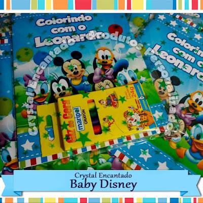Livrinhos de colorir Baby Disney