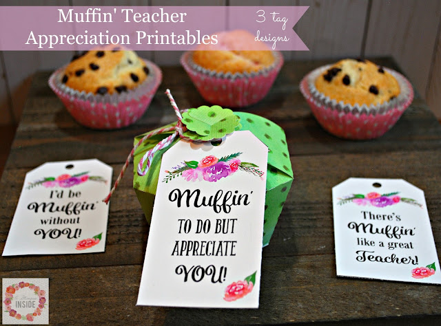 Teacher Appreciation Gift Idea and Printable Tag