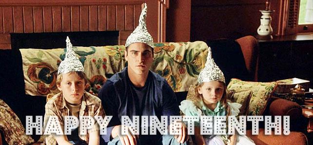Tin foil hat signs