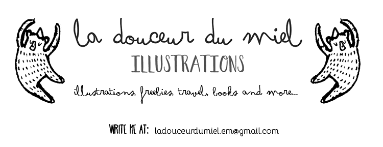 La douceur du miel: Illustrations for children and never grown up people