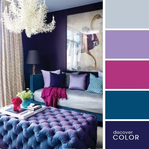 Desiree Fernandez: 8 Paletas de colores para decorar tu casa