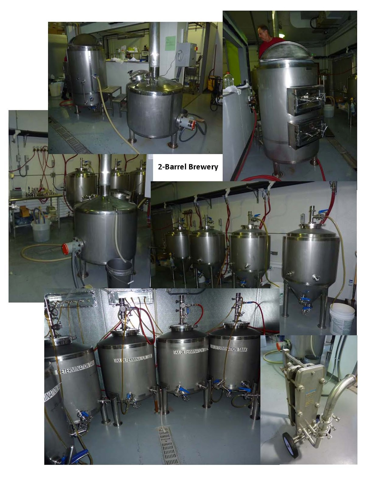 Ss Brewtech 1bbl nano brewhouse