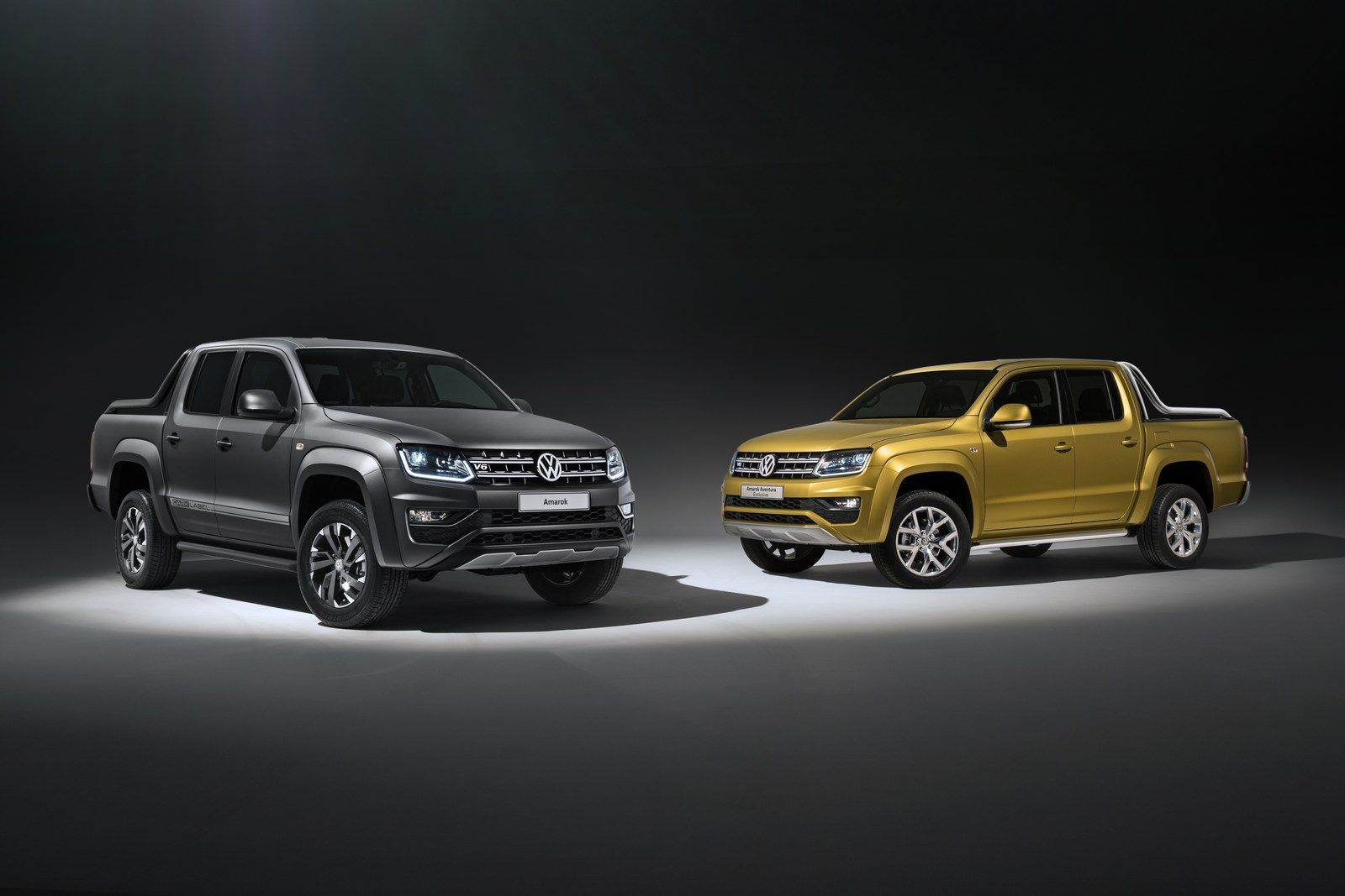 vw amarok dark label and aventura exclusive concept announced for frankfurt. Black Bedroom Furniture Sets. Home Design Ideas