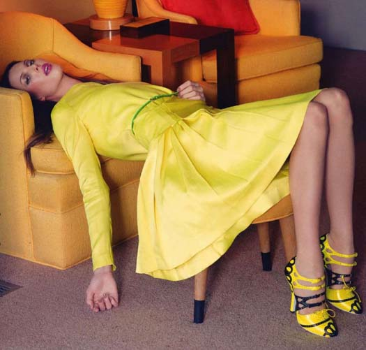 looks total amarelo
