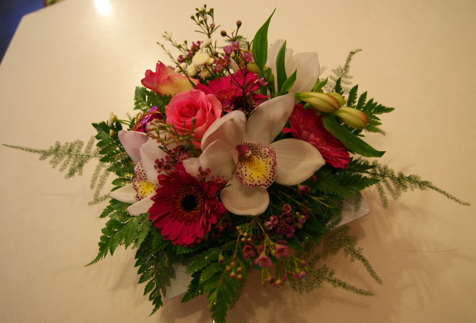 des magnolias sur ma voie lact e compositions florales no l. Black Bedroom Furniture Sets. Home Design Ideas