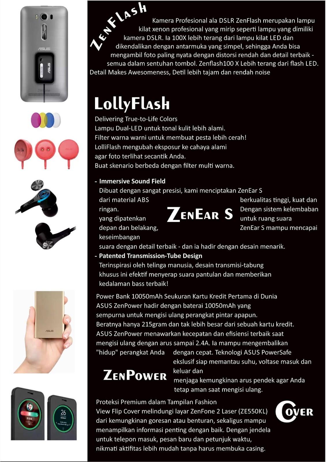 Asus Zenfone 2 Laser 60 Ze601kl Kolaborasi Visual Dan Keunggulan Free Zenflash Asesoris