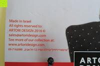 """Israel: Hold It – Precoius """"Schwanz, schwarz Metall Katze Balance Aufhänger"""