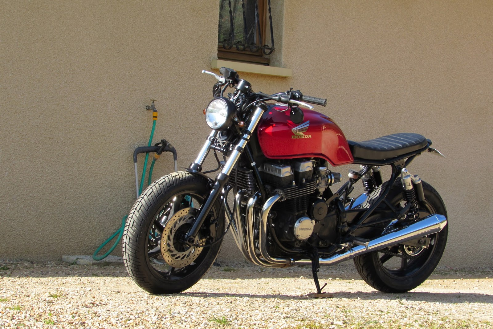 Jrf Customs Moto Bratstyle Seven Fifty Cb 750