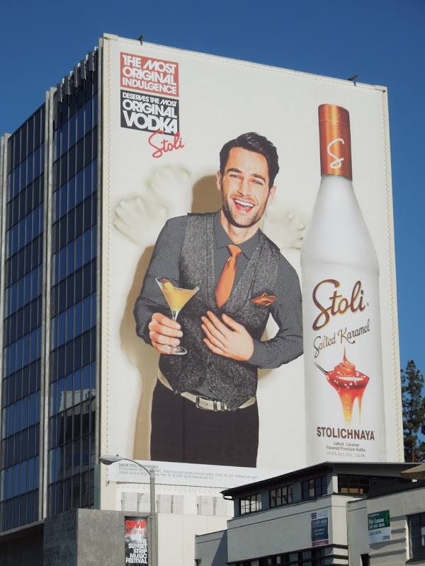 Stoli Vodka Most Original Indulgence billboard
