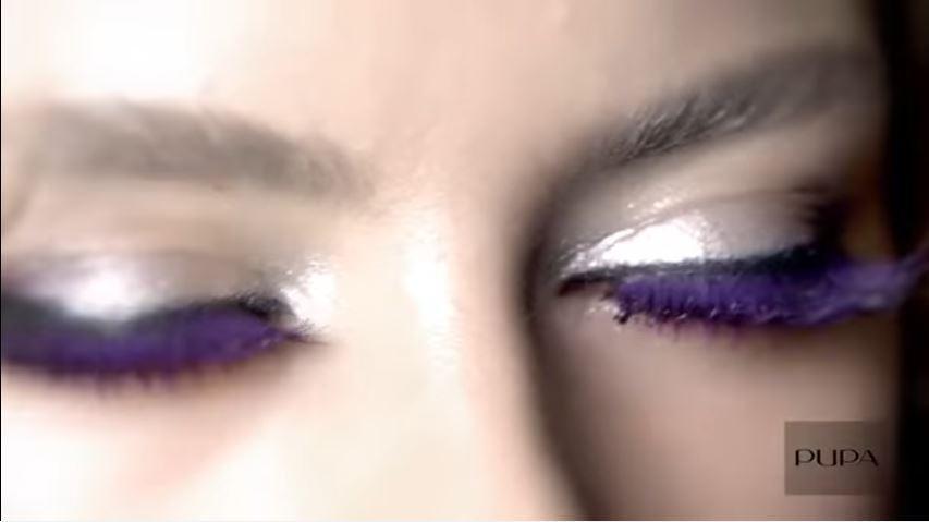 Modella Pupa pubblicità mascara Vamp extreme con modella bionda con Foto - Testimonial Spot Pubblicitario Pupa 2016