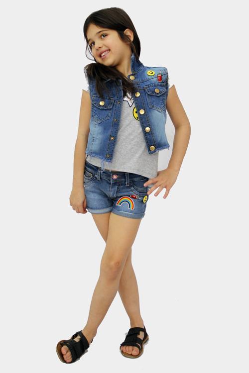 Shorts para niñas primavera verano 2018.