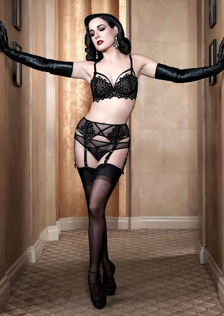 Something is. Dita von teese ken marcus with