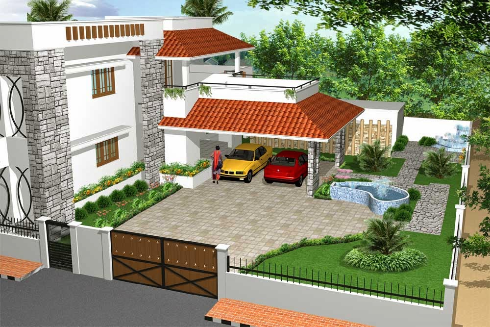 Home Garden Designs In India | Home Painting