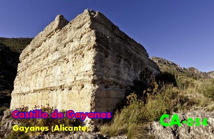 Resultado de imagen de Castillo de Gayanes