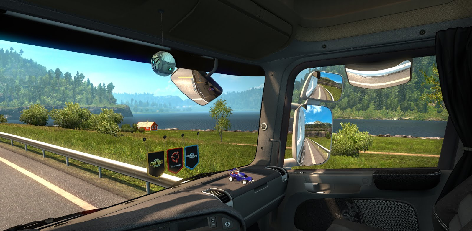 Scs Software S Blog A Touch Of Rocket League In Euro Truck Simulator 2