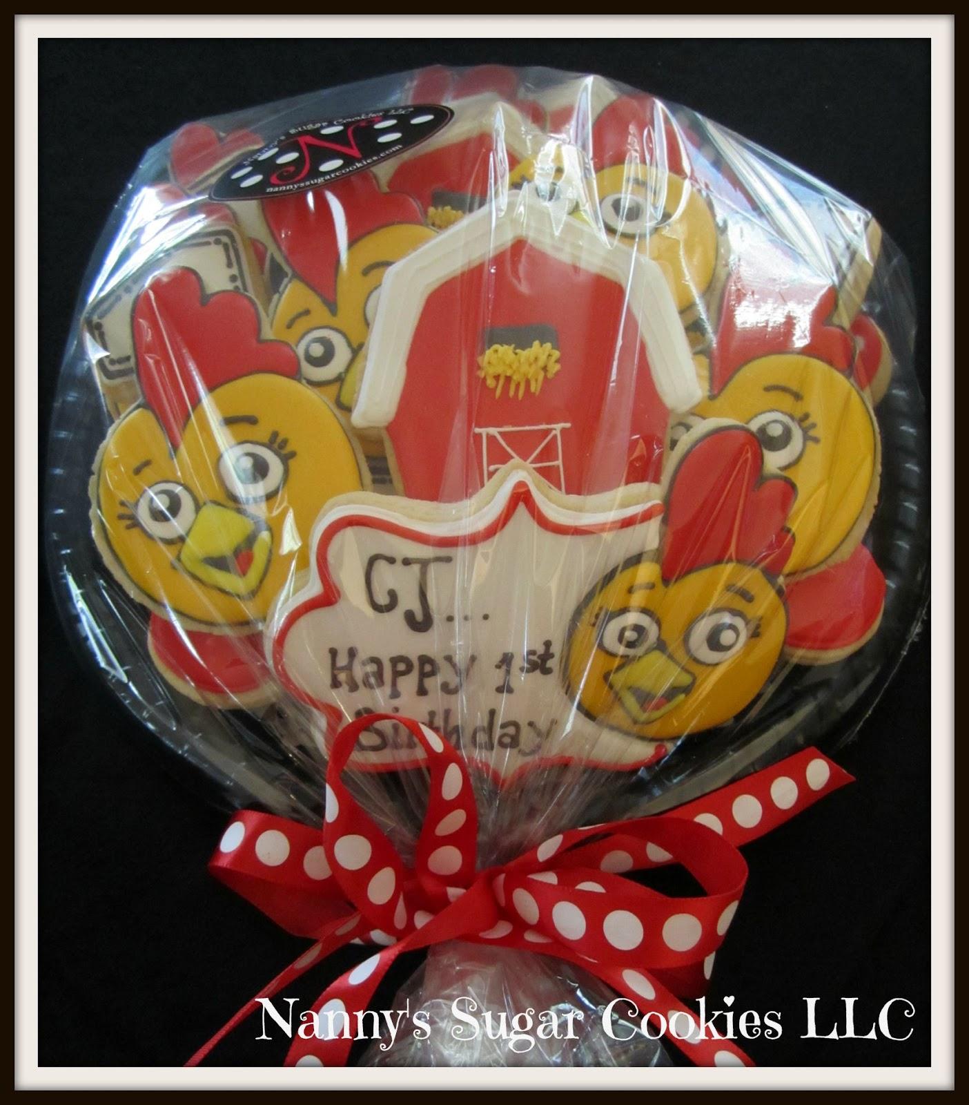 Nanny's Sugar Cookies LLC: Birthday Cookie Platters