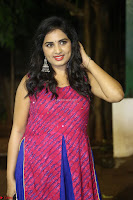Srushti in beautiful Pink Sleeveless Dress Cute Actress Dimples ~  Exclusive 039.JPG