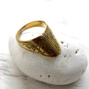 кольцо лучника купить подарок ролевику реконструктору старинное украшение опт
